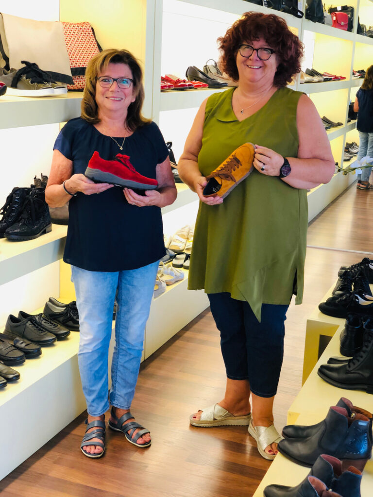 Gut Shoes Team Susanne Gut und Rita Hügli